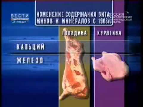 Пищевая ценность продуктов на 100 грамм, таблица пищевой