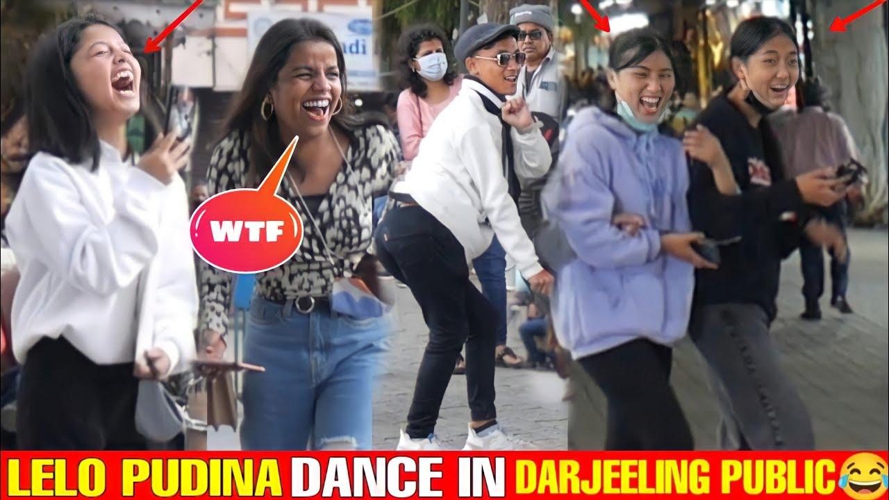 Lelo Pudina Dance in Darjeeling😂   Part 2   Epic Reactions 😂   Bhojpuri Dance  Rock Lama