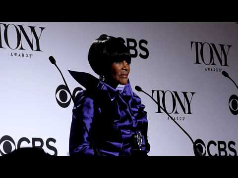 "Tonys Press Room: Cicely Tyson, Actress (Play), ""Trip to Bountiful"""