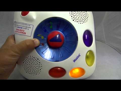 Musini by Neurosmith, magically convert your child's energy into music! For sale on Ebay!