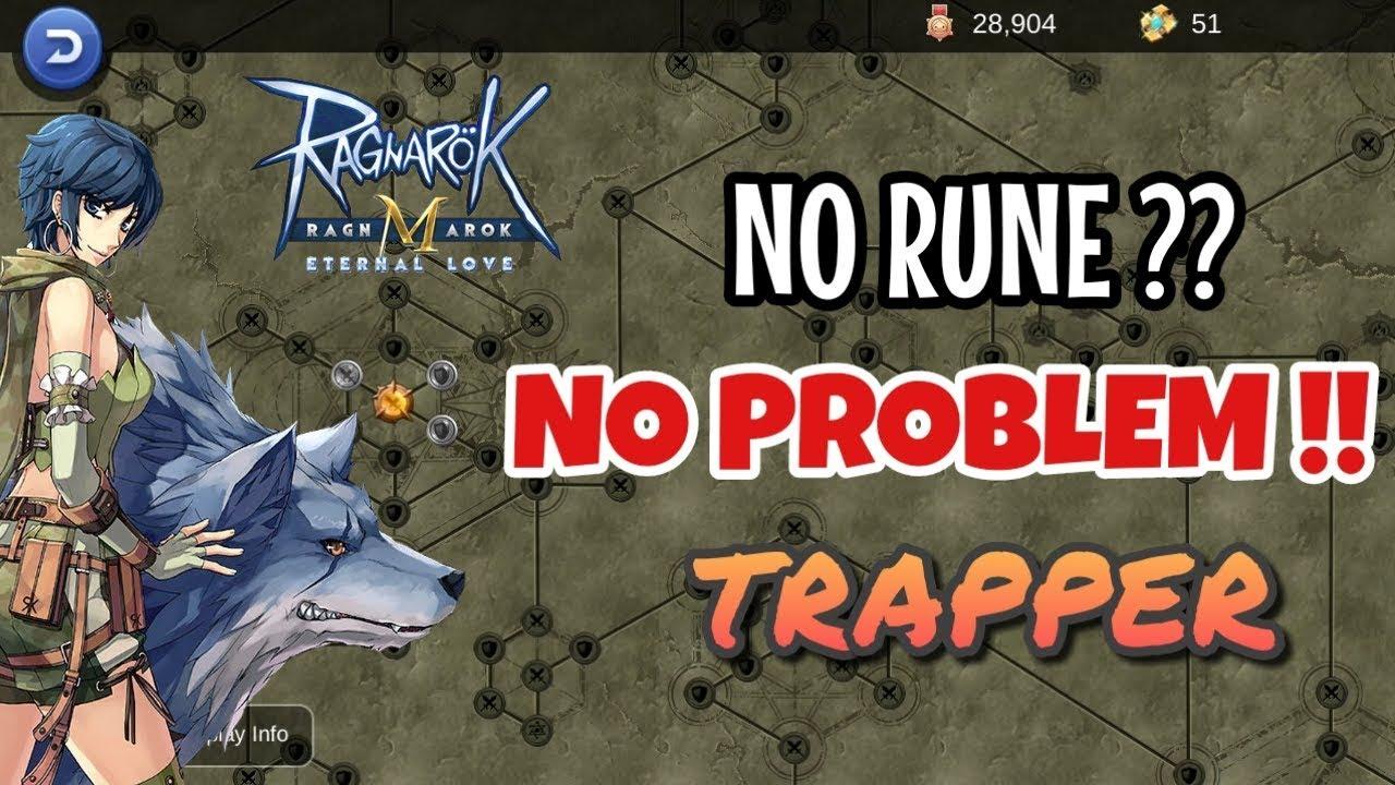 BUILD SNIPER TRAPPER NO RUNE : Stat/Equip CHEAP?? - Ragnarok Mobile
