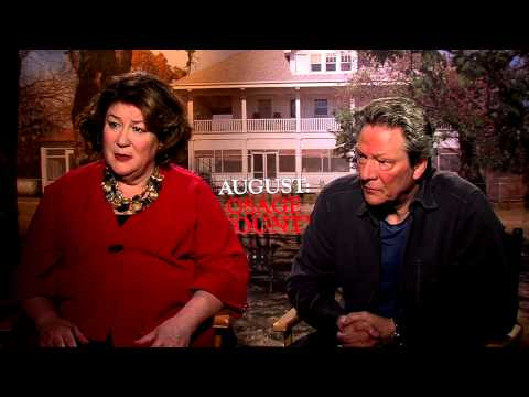 August: Osage County: Margo Martindale & Chris Cooper Official Movie Interview