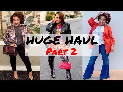 HUGE CLOTHING HAUL | THRIFT & NEW + Accessories and Jewelry! PART 2