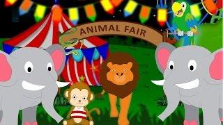 The Animal Fair - Nursery Rhyme - Animal Song for Children