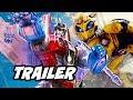 Transformers Bumblebee Comic Con Teaser Trailer Breakdown