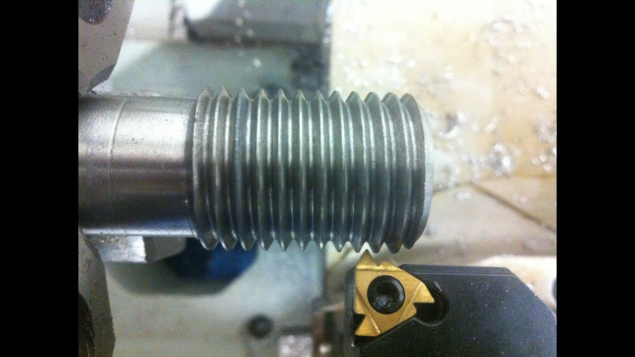 How To Thread On Lathe Machine  External And Internal Threads