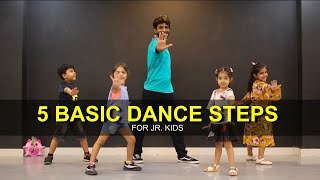 Baixar Dance Tutorial for 3 to 7 years Kids | 5 Basic Steps | Deepak Tulsyan | G M Dance | Part 2