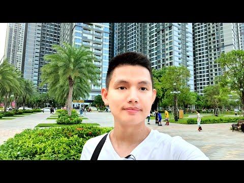 CHIỀU SÀI GÒN : CÔNG VIÊN ĐẸP Ở VINCOM LANDMARK 81 | Quang Lê TV