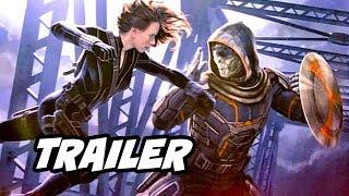 Black Widow Comic Con Trailer Breakdown - Marvel Phase 4 Easter Eggs
