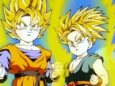 Why can goten and trunks turn ssj so young youtube - Sangoten super sayen 3 ...