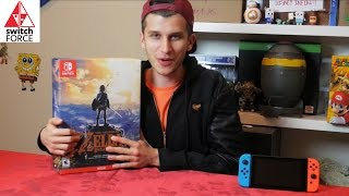 Zelda Breath of the Wild Special Edition Unboxing + Review (Nintendo Switch)