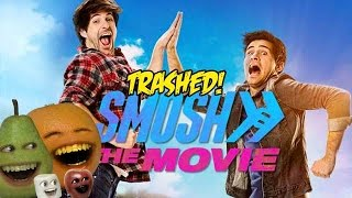 Annoying Orange - SMOSH the MOVIE TRAILER Trashed!!