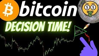 DECISION TIME! BITCOIN ETHEREUM and LITECOIN! Crypto BTC TA price prediction analysis, news, trading