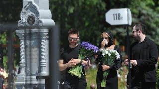 Сегодня прошли похороны Жанны Фриске в Москве. 18.06.15. Новости сегодня.