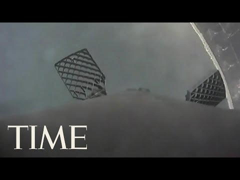 SpaceX Rocket's First-Stage Booster Smashes Into The Atlantic Ocean | TIME