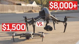 DJI INSPIRE 2 VS. DJI MAVIC 2 PRO - Which Is the Better Deal? | Gear Reviews