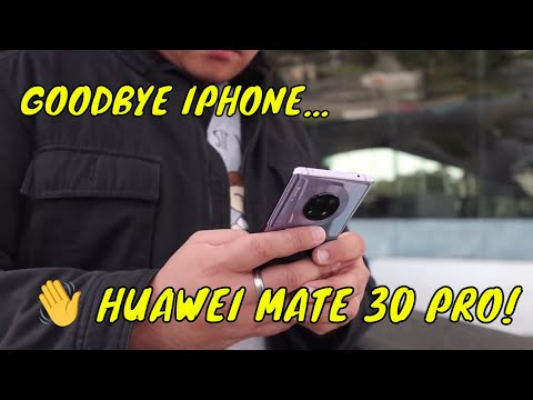 SWITCHING TO THE HUAWEI MATE 30 PRO (NO GOOGLE CHALLENGE)