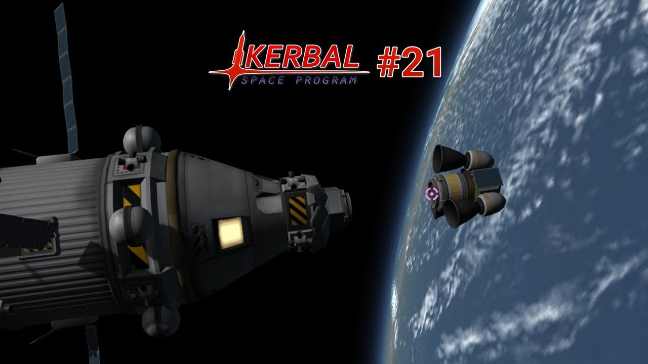 🚀 Dockingmanöver und Rettungsmission - Kerbal Space Program #21