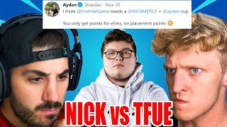 Tfue ONLY Return For World Cup.. Nickmercs Reveals #1 Controller Player! NEW Fortnite KILL ONLY Cup?