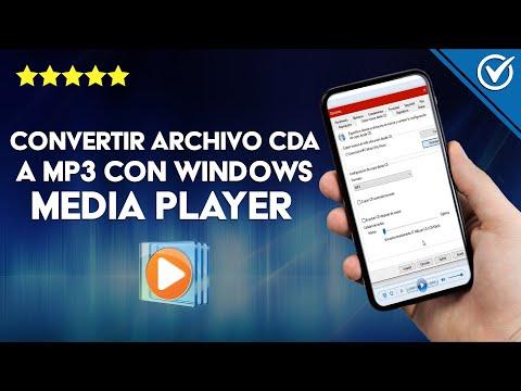 Cómo Convertir un Archivo CDA a MP3 con el Reproductor Windows Media Player Fácilmente