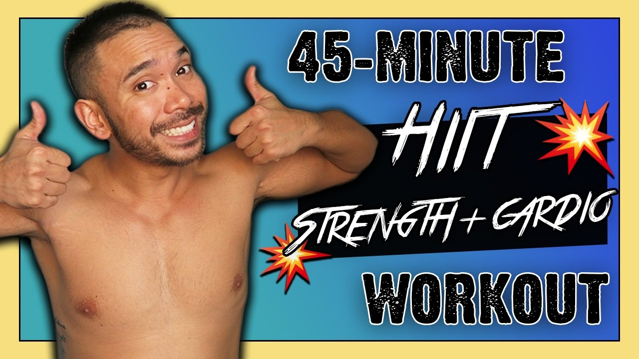 45-Min EXTREME TotalBody  Strength & HIIT Cardio Workout  Created by Mike Donavanik