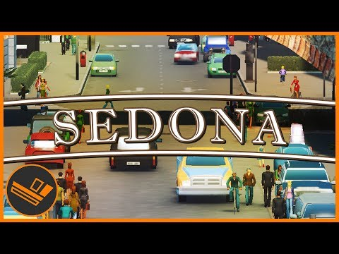 Sedona - Part 75 | MAKING A ROAD (Cities: Skylines)