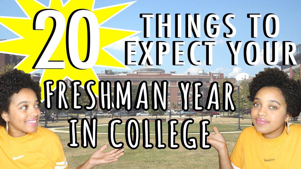freshman year Here's a list of 42 awesome college tips to make the most of freshman year and beyond college info geek college info geek is a resource that will help you become a.