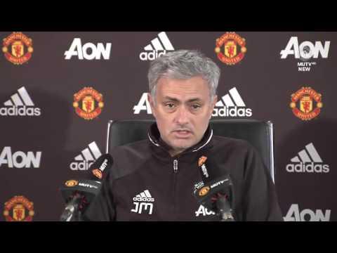 Jose Mourinho's Pre Match Press Conference   Manchester United vs Sunderland