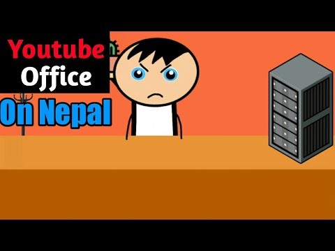 Youtube Office on Nepal | Youtube space Nepal | Funny video--Fuchhe