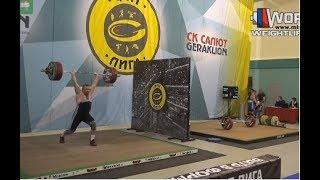 ЧАПЛЫГИН/CHAPLYGIN (105,М-45) 127-137R-142R/152x-152-167R. Russian Championships Masters -15.03.2017