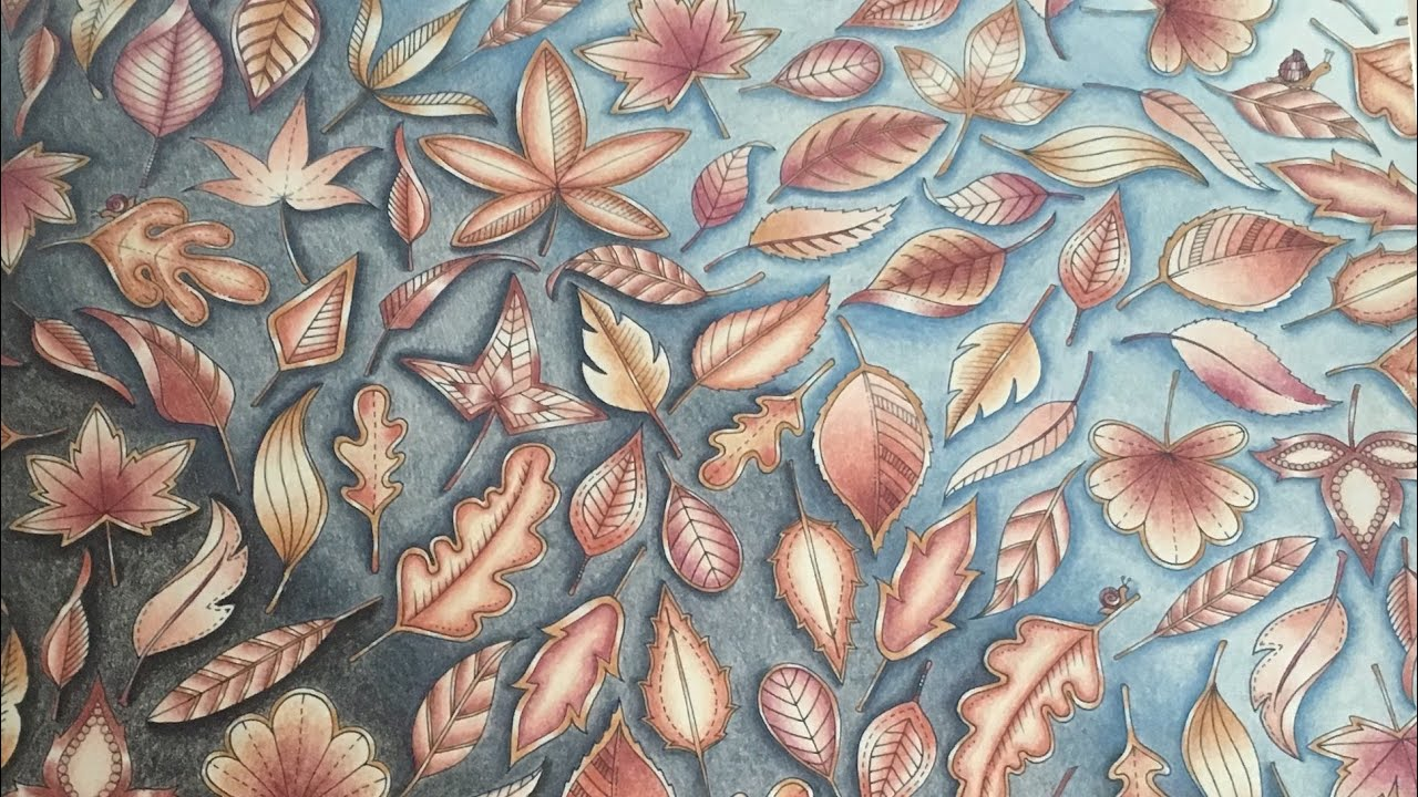 Blätter Tutorial - Johanna Basford's Secret Garden mit Polychromos