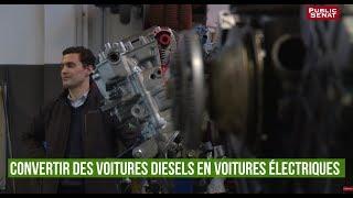 Car Watt : convertir des voitures diesels en voitures électriques #TERRATERRE