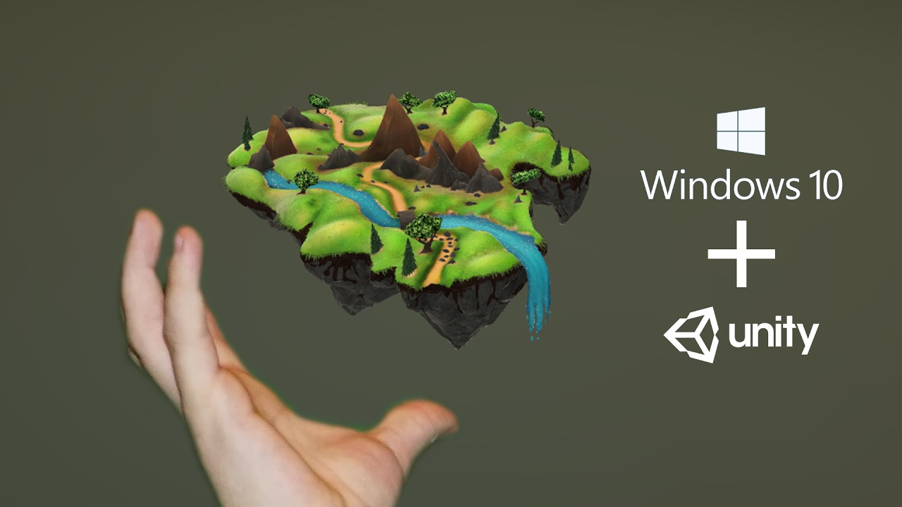 Building 3D Models with Windows 10's Creators Update for Unity