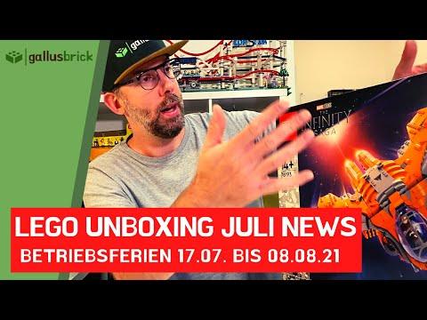 LEGO Unboxing 2021 Neuheiten - gallusbrick macht Sommerferien