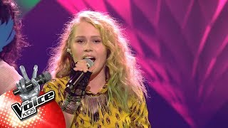 Lindsy - 'Girls Just Wanna Have Fun' | Halve Finale | The Voice Kids | VTM