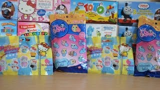 Sanrio Hello Kitty Littlest Pet Shop Surprise Packs Kiti Howaito Kiti-chan Haul opening