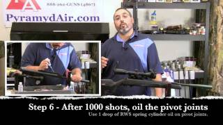 Take AIM Episode 7 - Maintaining your Spring Airgun