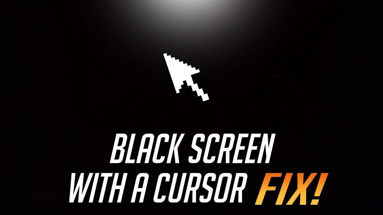 how to avoid black screen windows 10