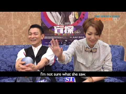 Stars' embarrassing toilet encounters (Andy Lau & Sammi Cheng Pt 2)