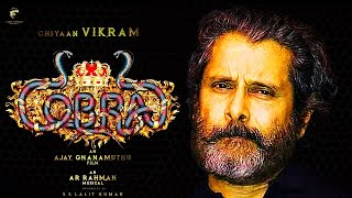 COBRA Official First Look - Motion Poster | Vikram 58 Official First Look - Teaser | Ajay Gnanamuthu