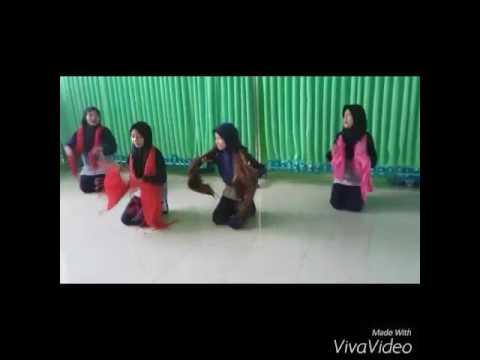 Praktik Menari Kelas 5C 2016/2017 SDIT Raudhatul Jannah Cilegon