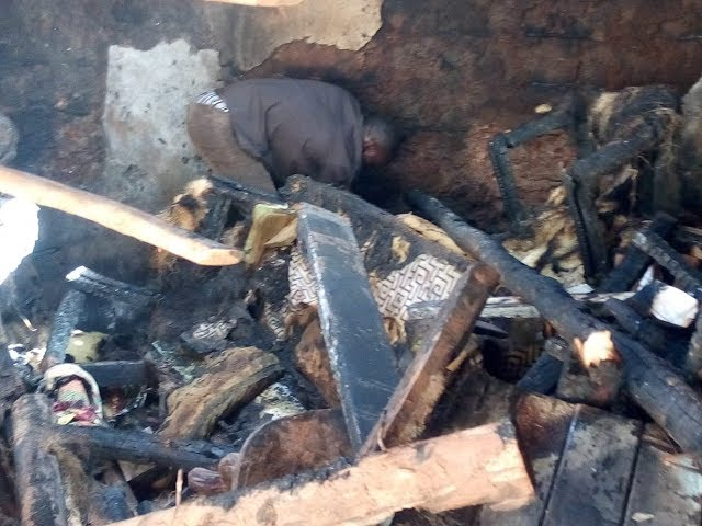 A Cry for Help in the Kibera Slum as Bro John Omondi's Home Burnt Down