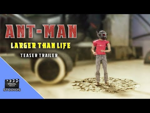 Ant-Man : Larger Than Life ( Fan Film ) 2018 free  Ant Man After Effects