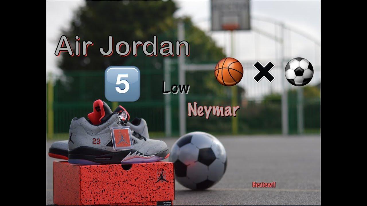4f84f64ca811e9 Air Jordan 5 Low Neymar X Jordan Review!! - YouTube