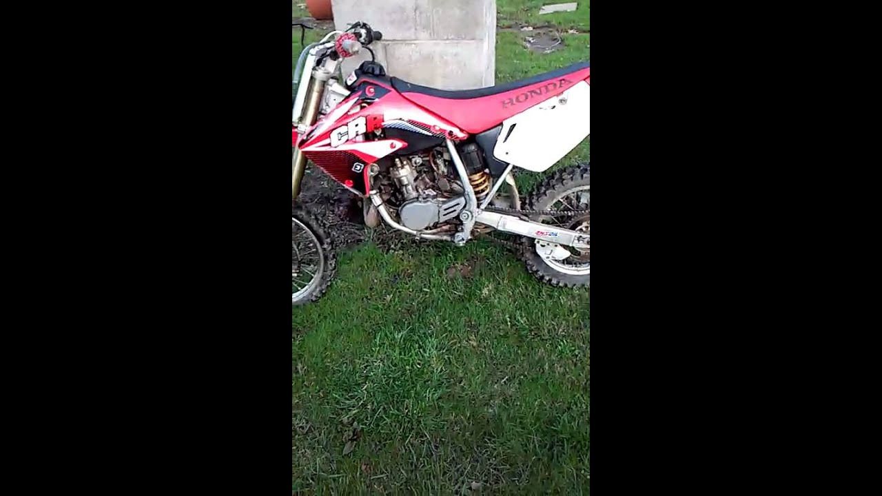 honda cr85r youtube
