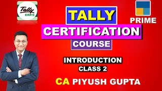 02 Accounting Process in Tally ERP 9 & Tally Prime | Learn Tally Online with Certificate