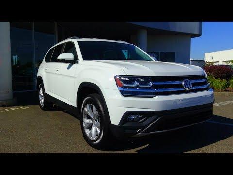 2018 Volkswagen Atlas 3.6 L V6 Review