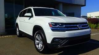 2018 Volkswagen Atlas 3.6 L V6 Review