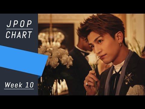J-POP CHART | J-POP ORICON | Week 10 - Top 30