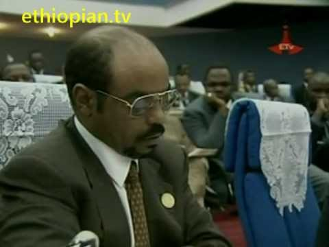 China's gift to Africa : New African Union Headquarters in Addis Ababa, Ethiopia. Clip 1 of 2